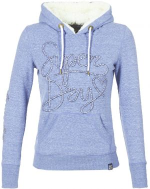 Mikiny Superdry  ARIA APPLIQUE BORG HOODIE