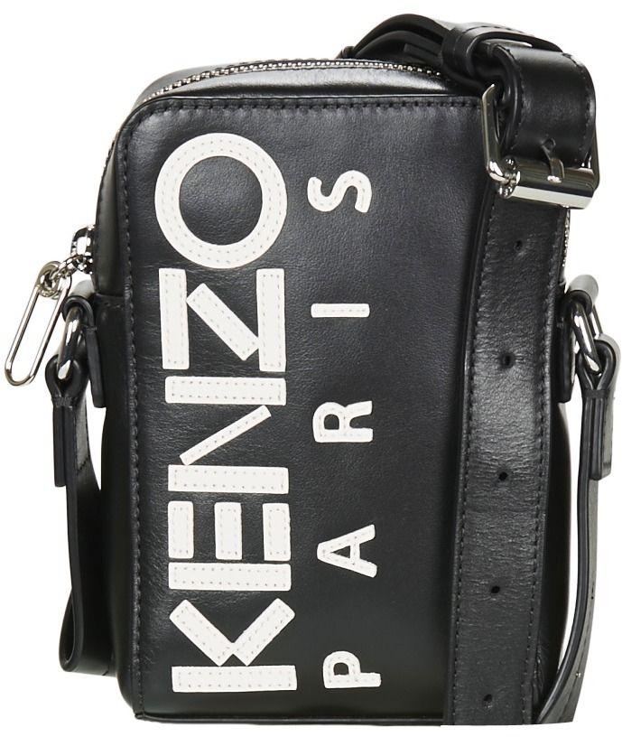 Vrecúška Malé kabelky Kenzo LOGO SMALL CROSSBODY značky Kenzo ... c1864f443ec