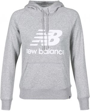 Mikiny New Balance  GRAPHIC SWEATER GREY