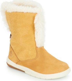 14ff8c111 Geox Chlapčenské zimné topánky Orizont - žlto-hnedé značky Geox ...