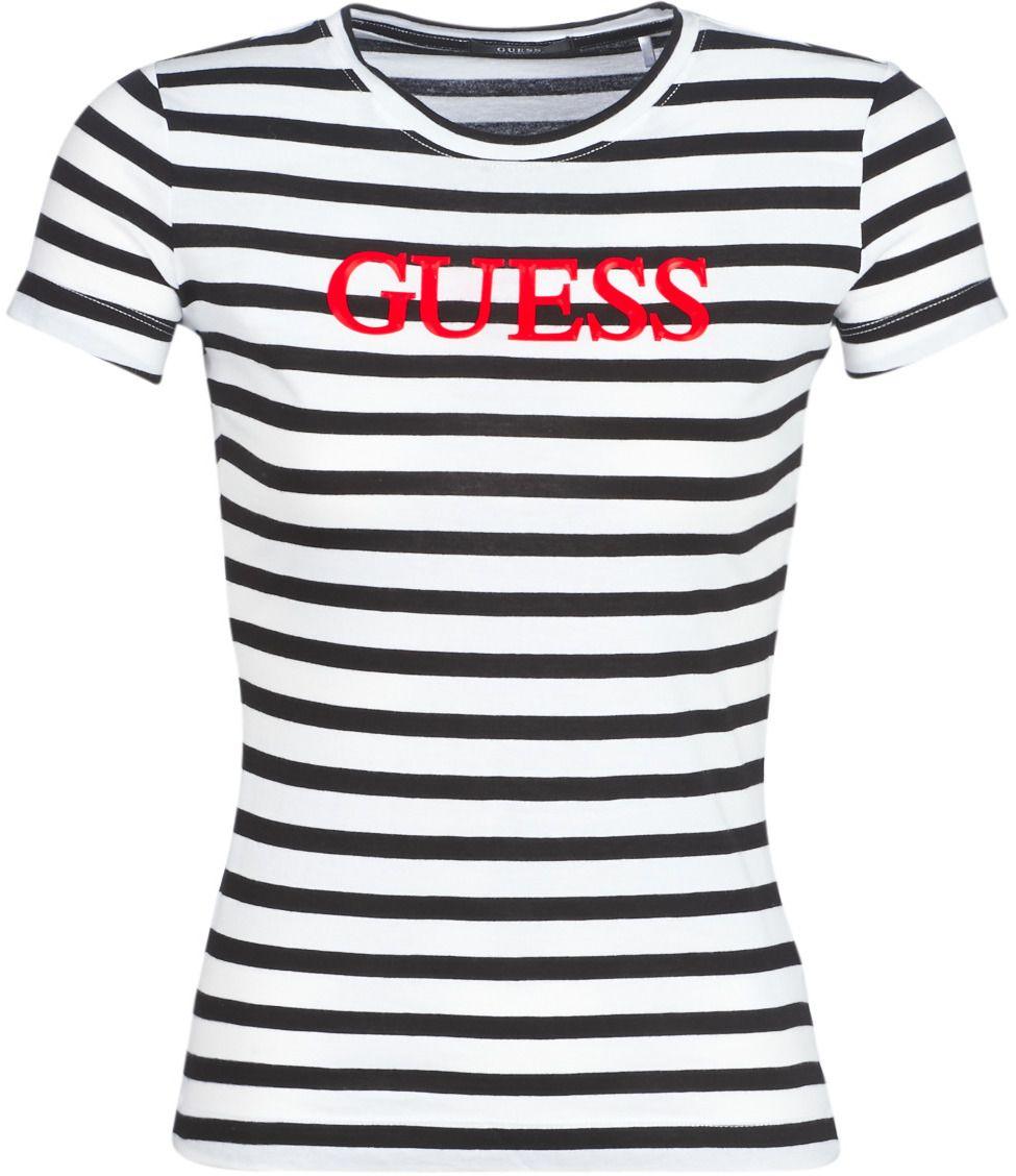 97d2ba7587614 Tričká s krátkym rukávom Guess LAQUARED značky Guess - Lovely.sk