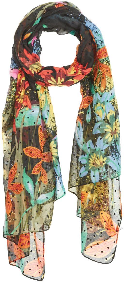 da6bf0ea60c Šále Štóle Šatky Desigual TIGER FLOWER značky Desigual - Lovely.sk
