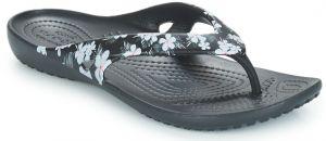5d1edd90dd6e7 Crocs čierne šľapky so zimným motívom Crocsband Holiday Clog značky ...