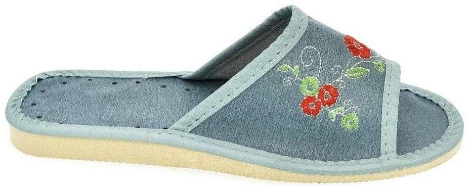 7c607be36156 Papuče John-C Dámske modré papuče JASNA značky John-C - Lovely.sk