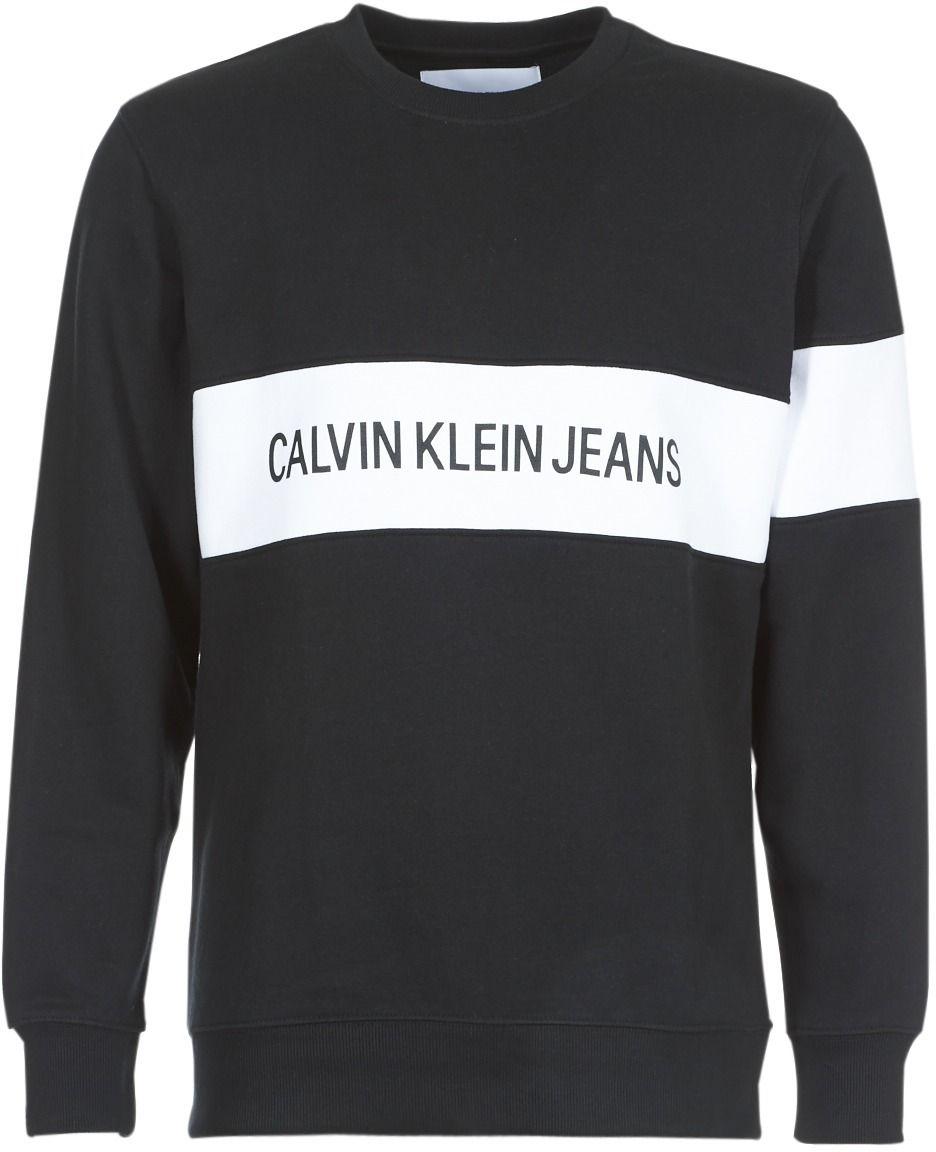 b2a4790718 Mikiny Calvin Klein Jeans STRIPE INSTITUTIONAL CREW značky Calvin Klein  Jeans - Lovely.sk