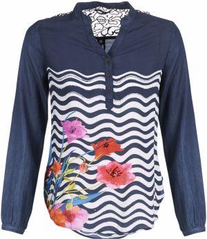 611be461204b Desigual farebný top Blus Silke značky Desigual - Lovely.sk