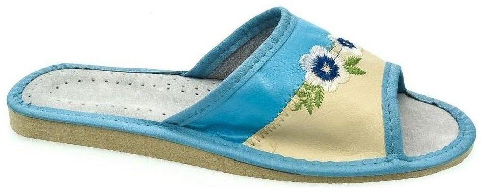 fed6f724703c Šľapky John-C Dámske tyrkysovo-béžové papuče IMA značky John-C ...