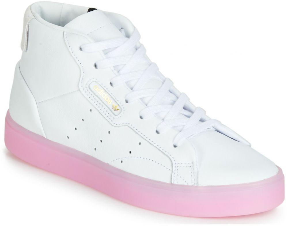 Členkové tenisky adidas adidas SLEEK MID W značky Adidas - Lovely.sk ea78a060622