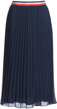 Sukňa Tommy Jeans  TJW MIDI PLEATED