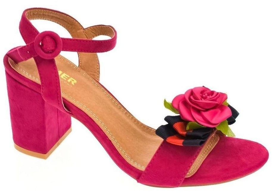 4b65c0144b13 Sandále Comer Dámske cyklamenové sandále LITEN značky COMER - Lovely.sk