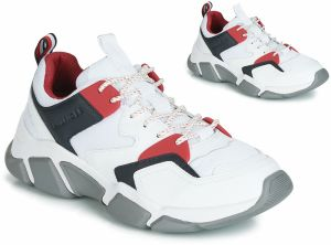 d9b1f1892c Sneakersy TOMMY HILFIGER - Iconic Leather Texti FM0FM01732 White 100 ...