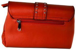 654cc3edca Spoločenské kabelky John-C Dámska červená kabelka COLLIR značky John ...