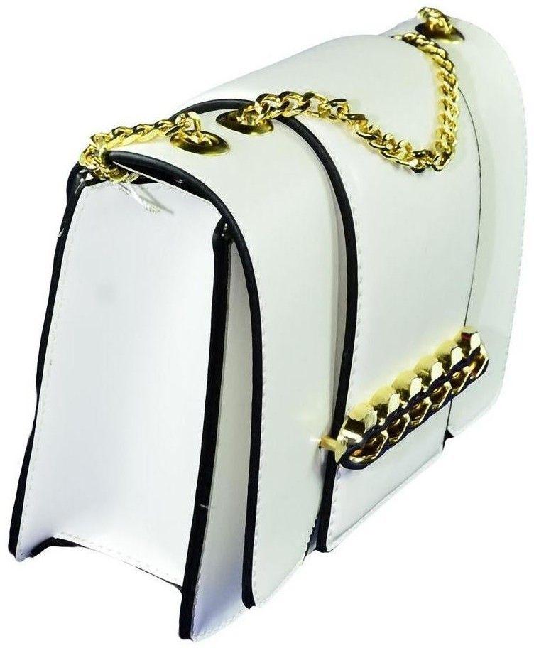 3131e09f51 Spoločenské kabelky John-C Dámska biela kabelka LOSIDA značky John-C ...