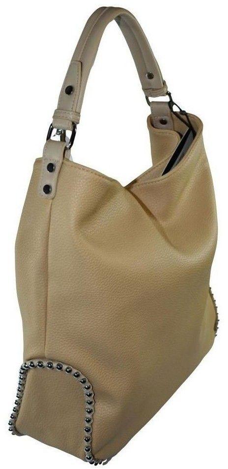 71221649d7 Kabelky a tašky cez rameno John-C Dámska hnedá kabelka VANTA značky ...