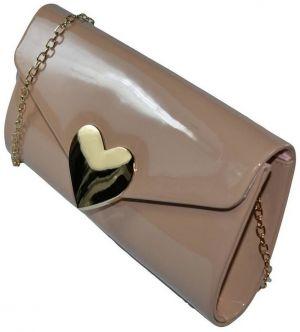 f3ae1916bd Spoločenské kabelky John-C Dámska béžová kabelka FLORENCE značky ...