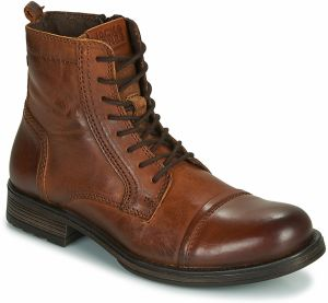 Polokozačky Jack   Jones  JFW RUSSEL LEATHER