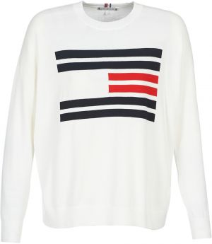 Svetre Tommy Hilfiger  TH ESSENTIAL FLAG SWEATER