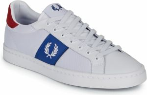 Nízke tenisky Fred Perry  LAWN LEATHER / MESH