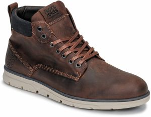 Polokozačky Jack   Jones  JFW TUBAR LEATHER