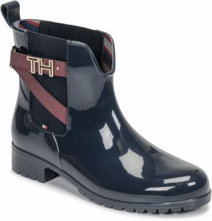 Čižmy do dažďa Tommy Hilfiger  TH HARWARE RUBBER BOOTIE