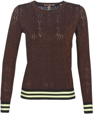 Svetre Maison Scotch  BASIC PULL WITH LUREX   STRIPED RIBS