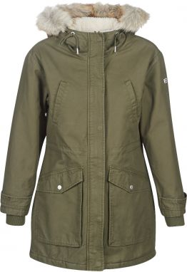 Parky Tommy Jeans  TJW ESSENTIAL LINED COTTON PARKA