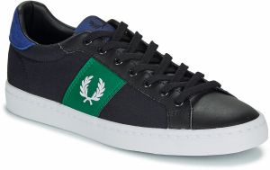 Nízke tenisky Fred Perry  LAWN LEATHER / CANVAS