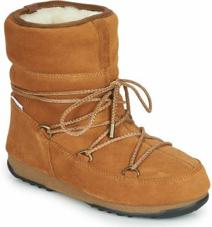 Obuv do snehu Moon Boot  MOON BOOT LOW SUEDE WP