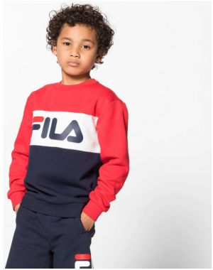 Mikiny Fila  Kids night blocked crew