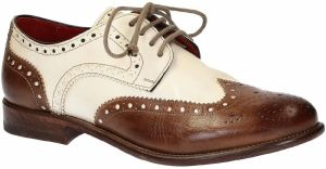 Derbie Leonardo Shoes  05100 BUFALO DELAVE BRANDY