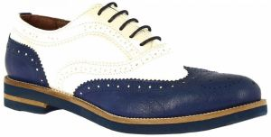 Derbie Leonardo Shoes  333-15 CAPRA BLU