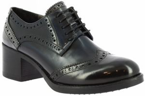Derbie Leonardo Shoes  146 BLEU NERO