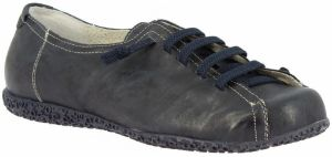 Derbie Leonardo Shoes  1269PINTA BLU