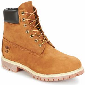 deb2477d2e Pánske vodeodolné béžové kožené zimné topánky Timberland ICON 6-INCH ...
