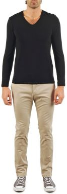Nohavice Chinos/Nohavice Carrot Kulte  PANTALON INJECTION 101805 BEIGE