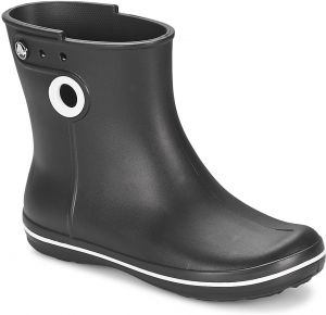 Čižmy do dažďa Crocs  JAUNT SHORTY BOOT W-BLACK