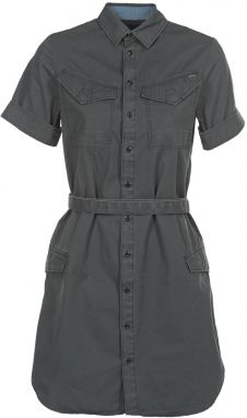 Krátke šaty G-Star Raw  ROVIC SHIRT DRESS WMN S/S