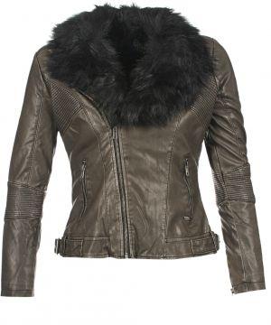 da595287fb AFF Dámska kožená bunda 17V01-Marrone značky AFF - Lovely.sk