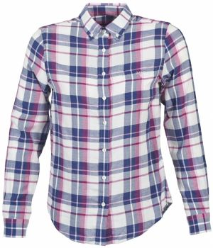 Košele a blúzky Gant  COTTON FLANNEL CHECK SHIRT