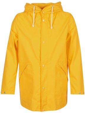 Žltý vodeodolný kabát Long Jacket značky Rains - Lovely.sk ef08fa465d7