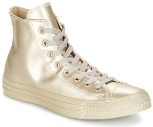Členkové tenisky Converse  CHUCK TAYLOR ALL STAR LIQUID METALLIC HI LIQUID METALLIC HI GOLD