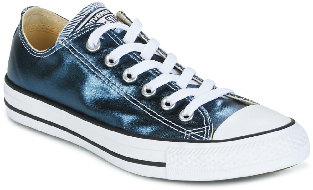 d1dfdcc90 Nízke tenisky Converse CHUCK TAYLOR ALL STAR METALLIC CANVAS OX METALLIC  CANVAS OX BLUE značky Converse - Lovely.sk