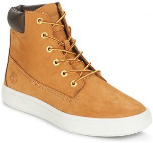 Dámske vodeodolné žlté kožené zimné topánky Timberland ICON 6-INCH ... 5957d687d61