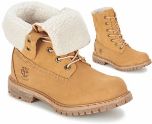 Polokozačky Timberland  AUTHENTICS TEDDY FLEECE WP FOLD DOWN