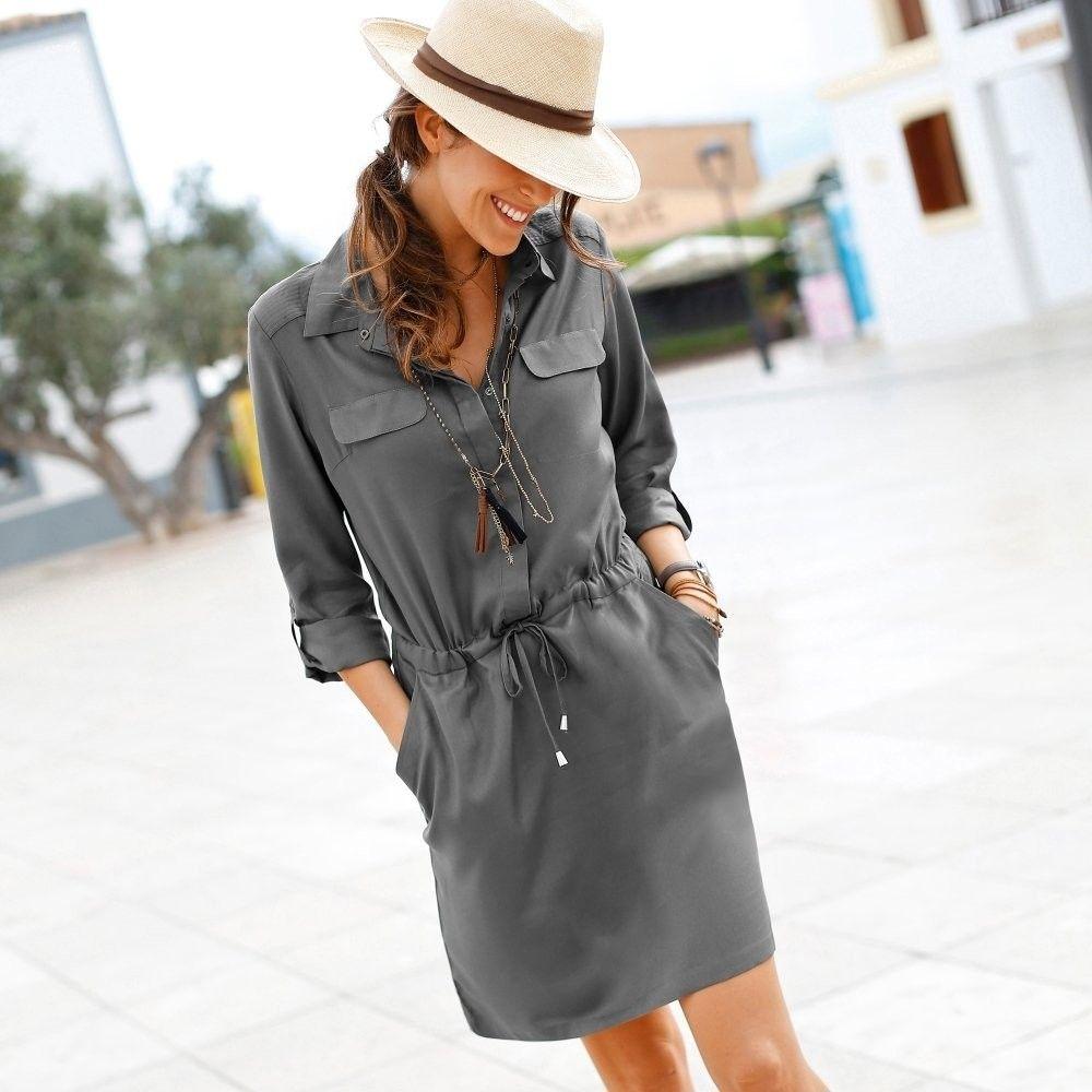 453919d60871 Blancheporte Košeľové šaty bronzová 44 značky Blancheporte - Lovely.sk