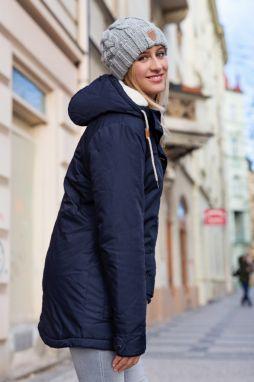 c45b1323af SAM73 Dámsky kabát 1282938 tmavo modrá značky Sam 73 - Lovely.sk