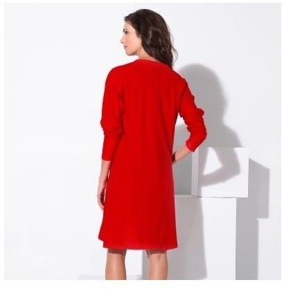 c29410db9bb1 Blancheporte Dlhý kašmírový sveter červená 34 36 značky Blancheporte -  Lovely.sk