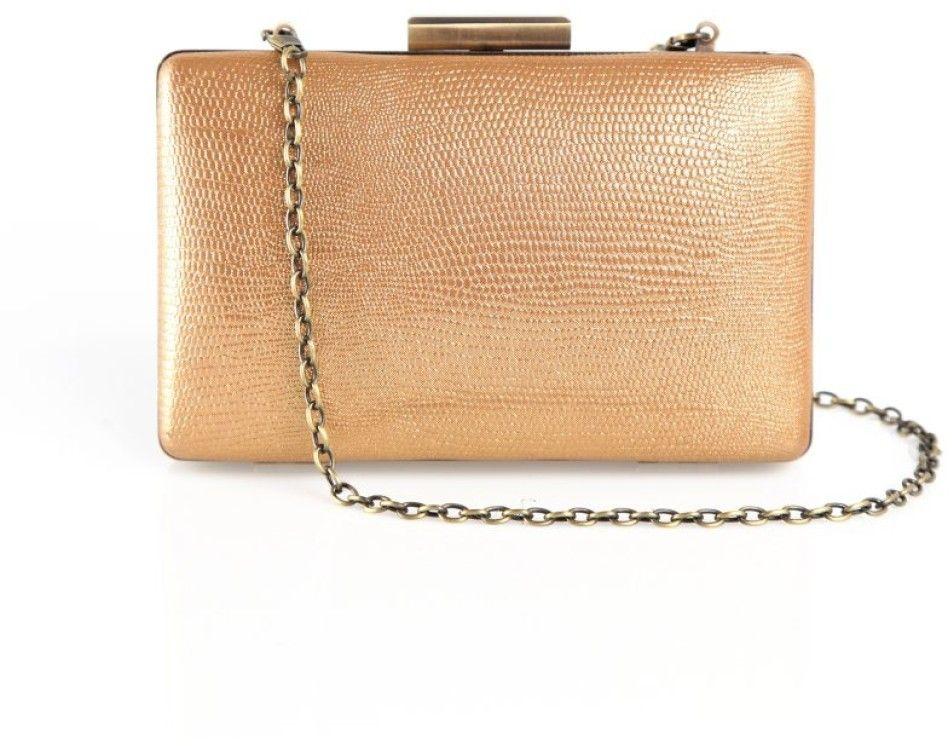 bf288e0a20 VENCA Trblietavá listová kabelka s retiazkou zlatá značky VENCA - Lovely.sk