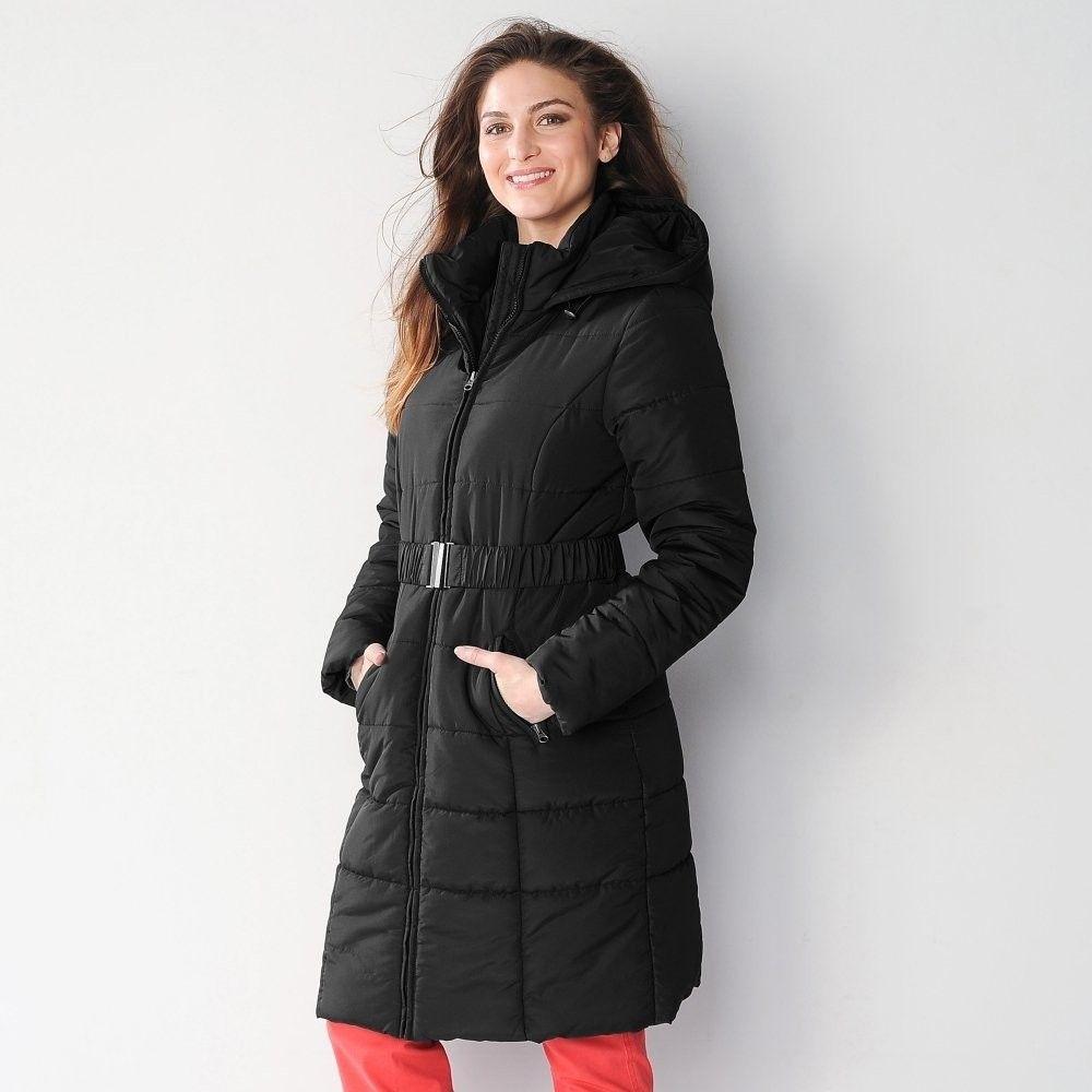 ce683e011f44 Blancheporte Dlhá prešívaná bunda čierna 48 značky Blancheporte - Lovely.sk