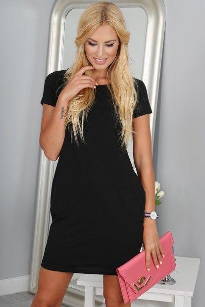2650e77607e21 Čierne športové šaty značky Fasardi - Lovely.sk